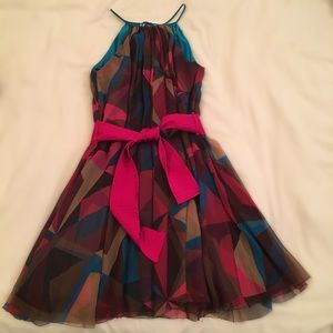 Multicolored party dress